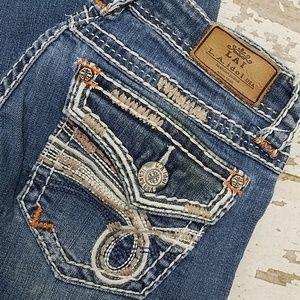 L A Idol jeans